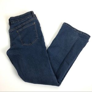 crazy 8 bootcut jeans size 12 plus Medium Wash